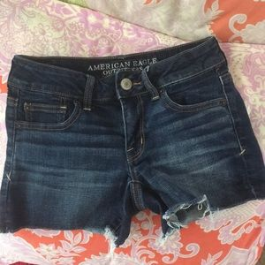 American Eagle Shorties jean shorts